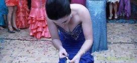 Альтернатива бросанию букета невесты.