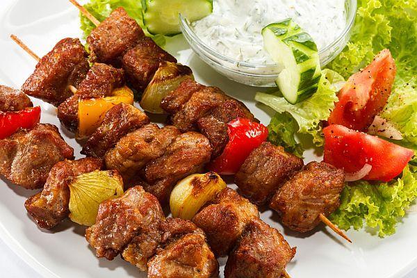 Фантастически мягкое мясо на шашлыки за полчаса
