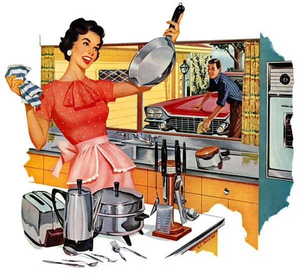Хорошо ли быть домохозяйкой