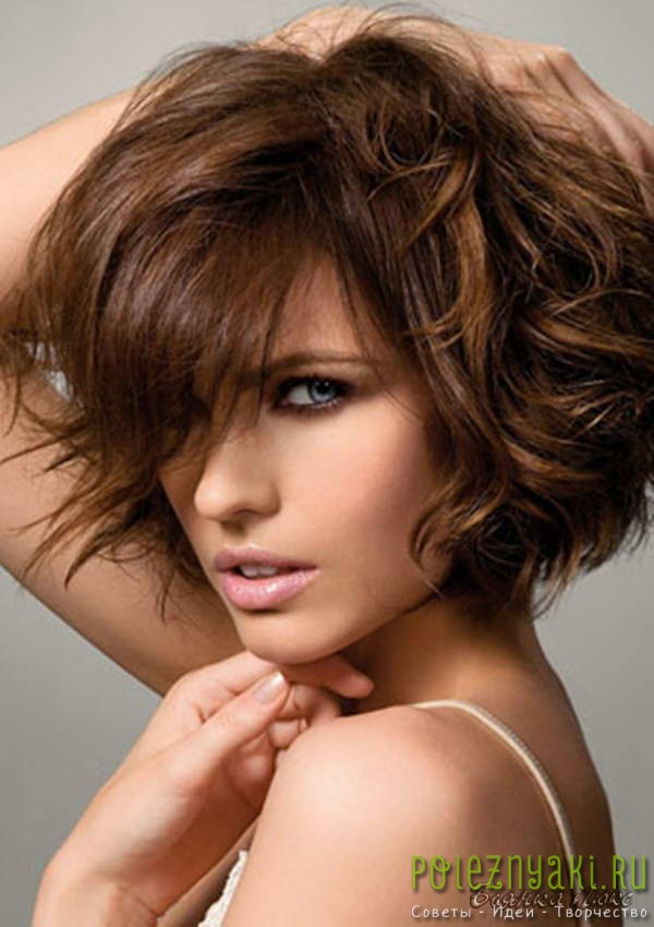 Карвинг коротких волос 1
