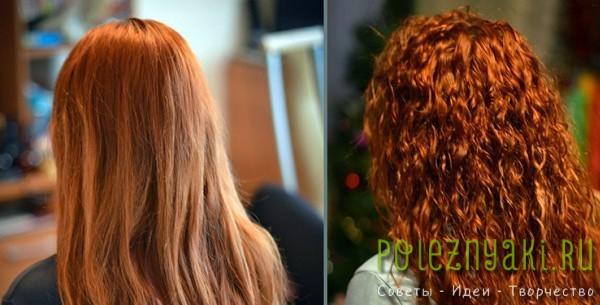 Карвинг волос до и после на фото1