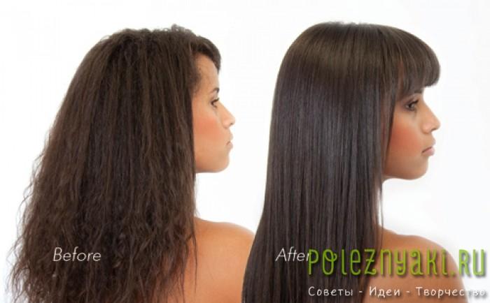 Карвинг волос до и после на фото3