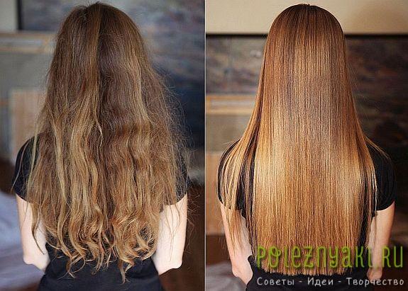 Карвинг волос до и после на фото4