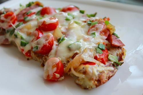 Вкусная пицца из картошки5