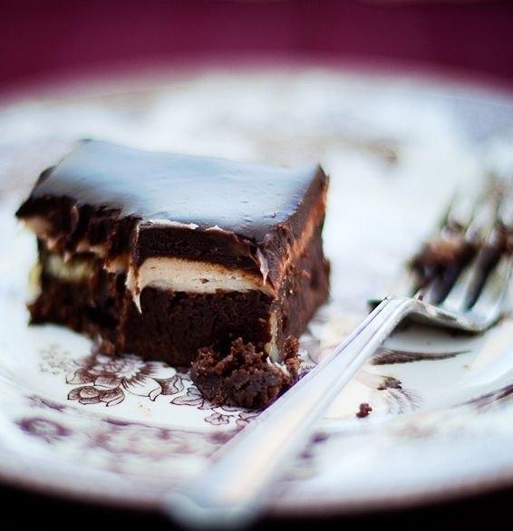 шоколадное пирожное Брауни Капучино