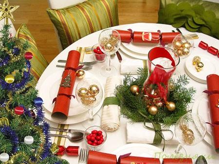 украшение тарелок на новый год