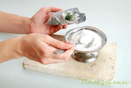 2 Добавьте ложку английской соли