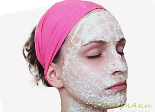 Готовить маску для лица