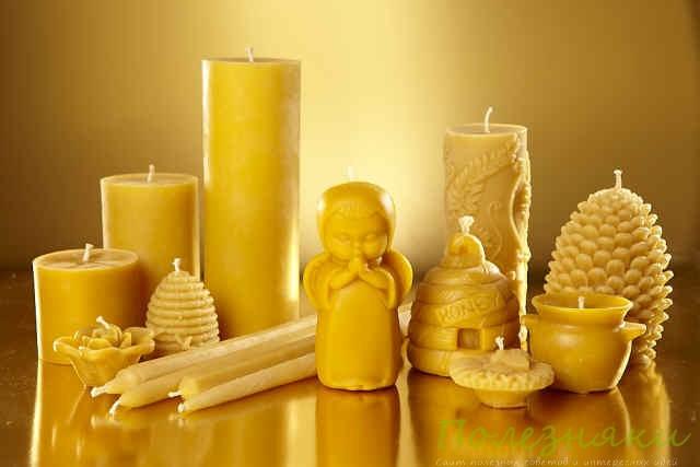 Как сделать восковую свечу в домашних условиях своими руками