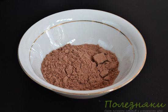 какао-порошок