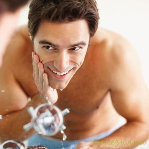 снять раздражение кожи после бритья