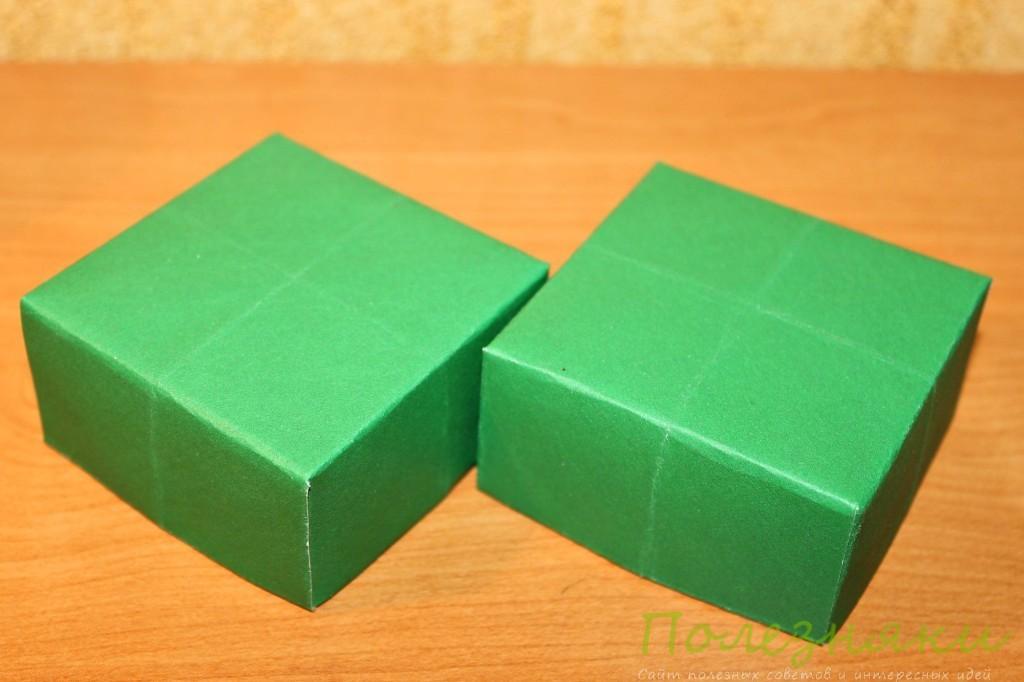 Складываем второй квадрат