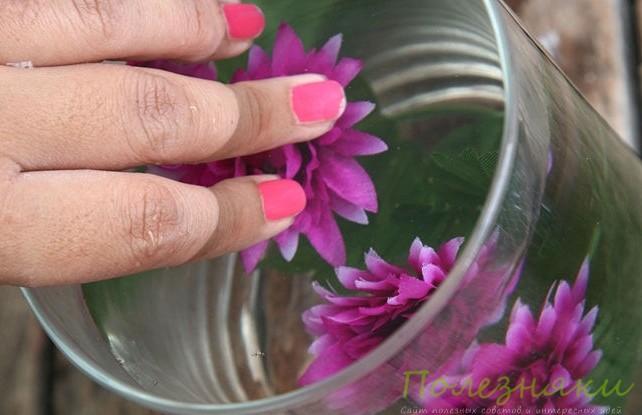 Размещаем цветы