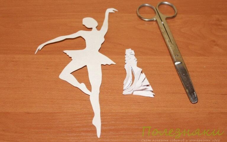 Как сделать снежинку-балерину своими руками