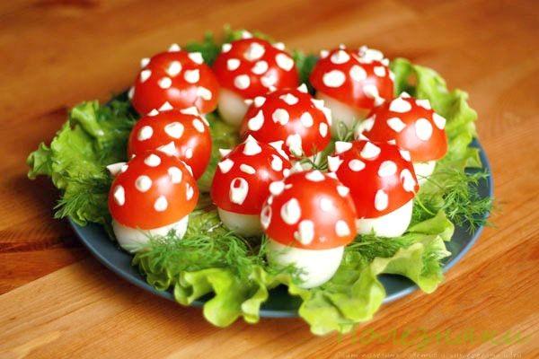Простые идеи для оригинального оформления блюд