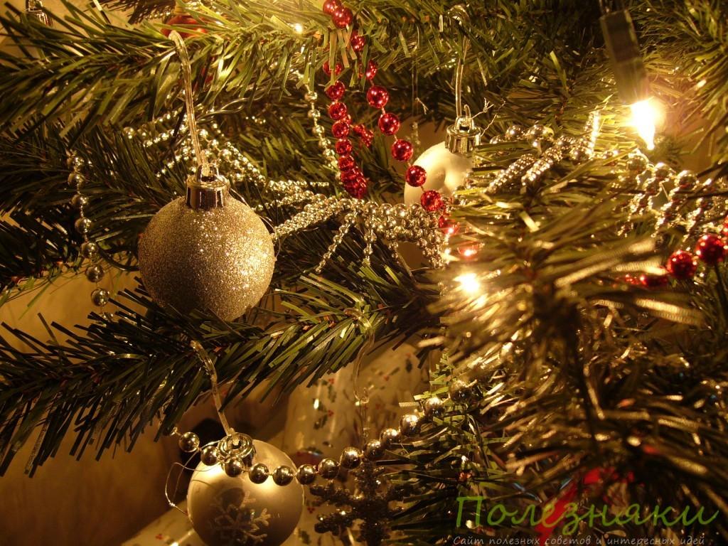 Как правильно украшать новогоднюю елку