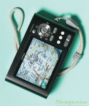 Фотоаппарат как навигатор