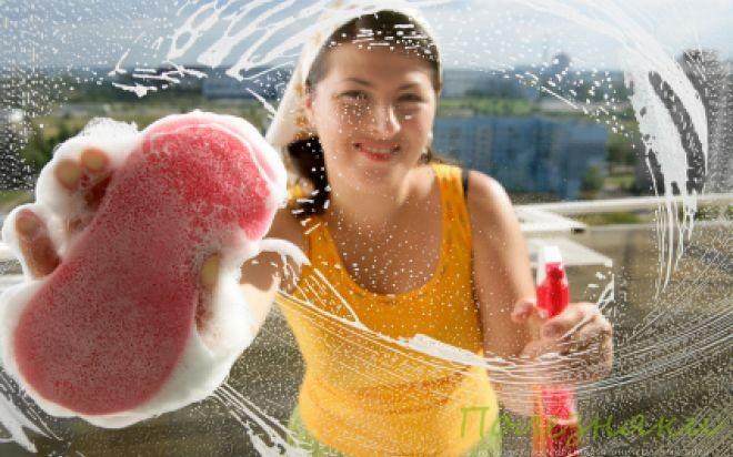 как легко вымыть окна без разводов