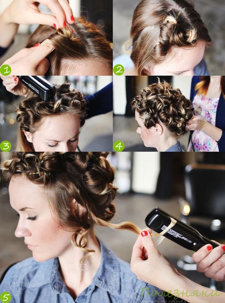 способ укладки волос