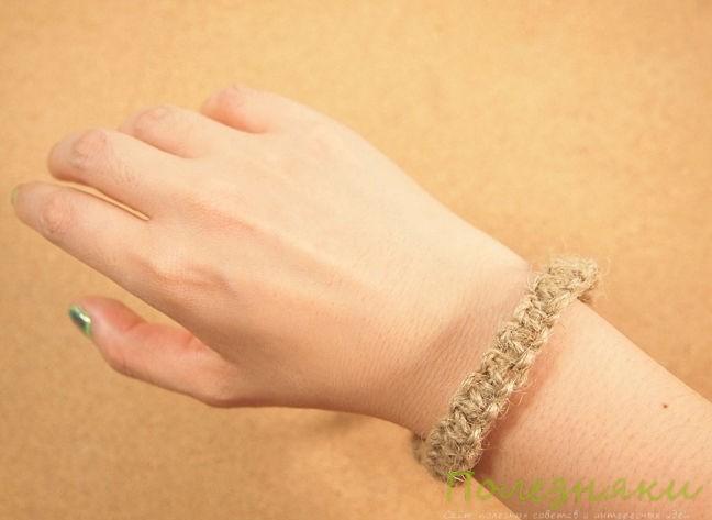 С удовольствием носим браслет