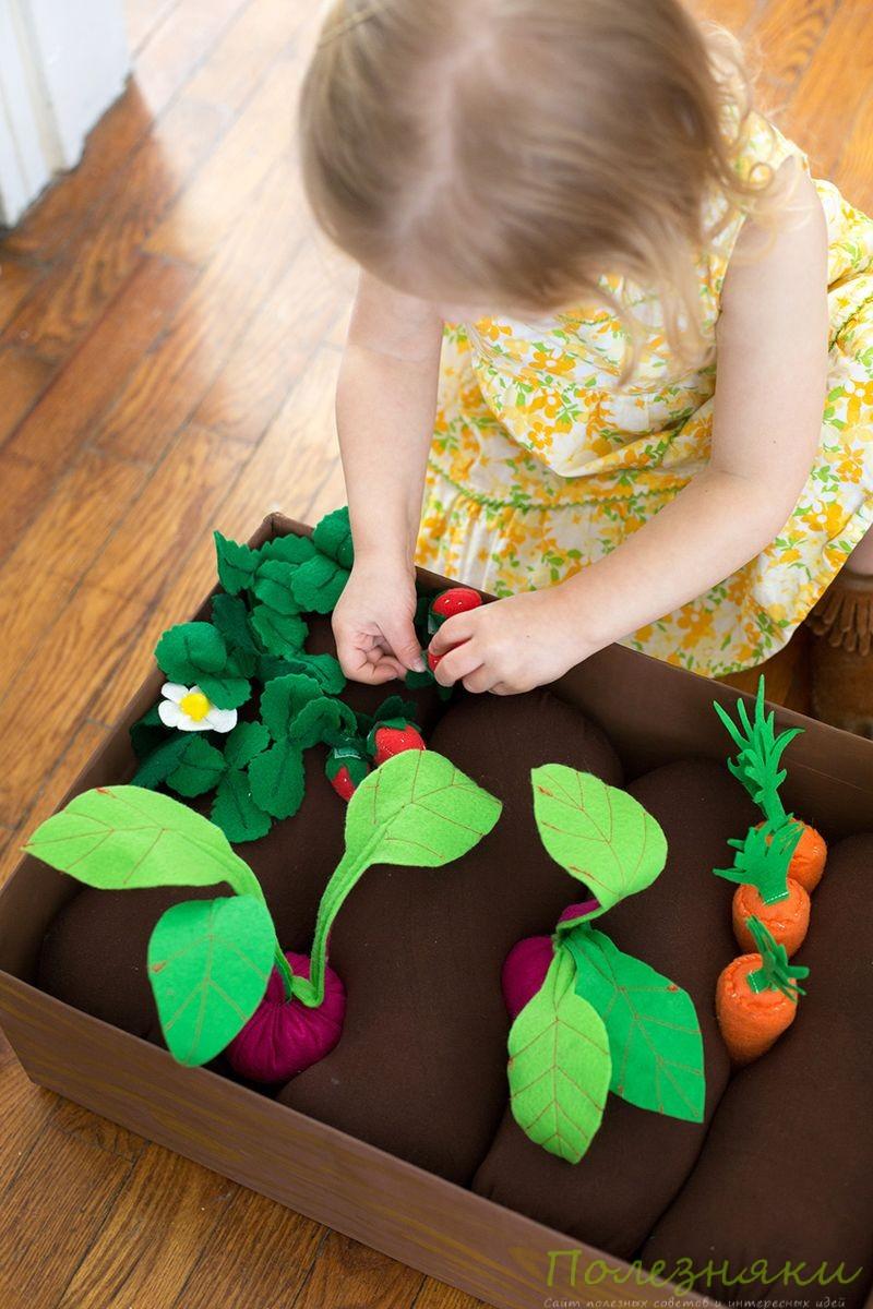 Сшить развивающие игрушки своими руками для детей 2-3 лет