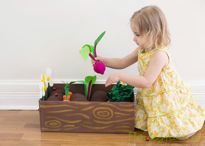 Игра-огород своими руками