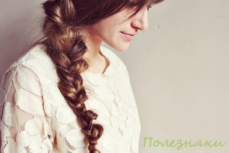 Как заплести небрежную косу 1