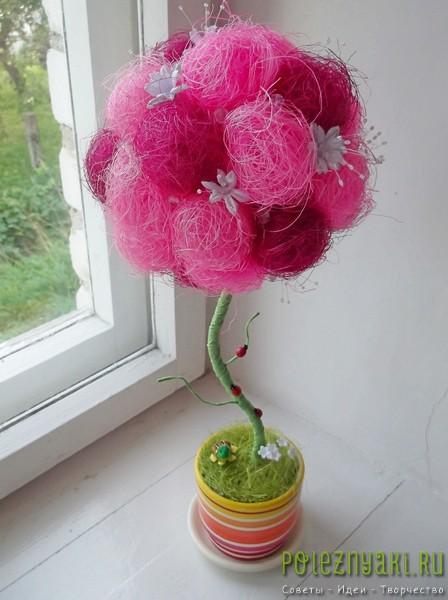 Искусственные цветы своими руками для начинающих фото 654