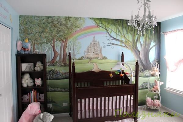 комната сказочный лес