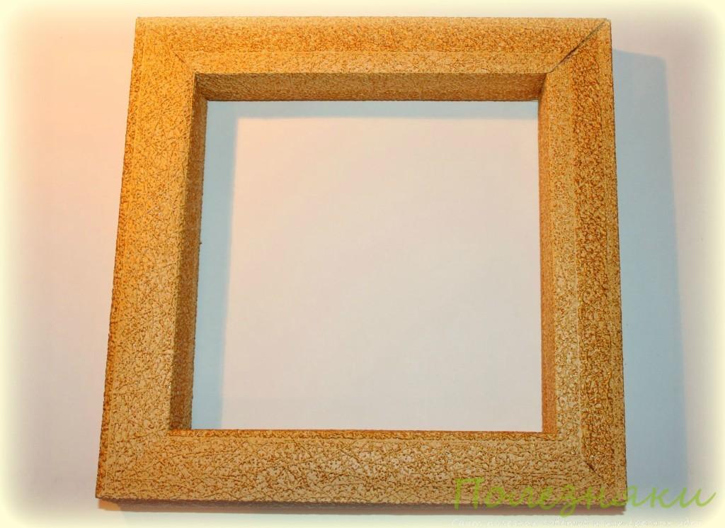 рамки-витринки из остатков обоев 10