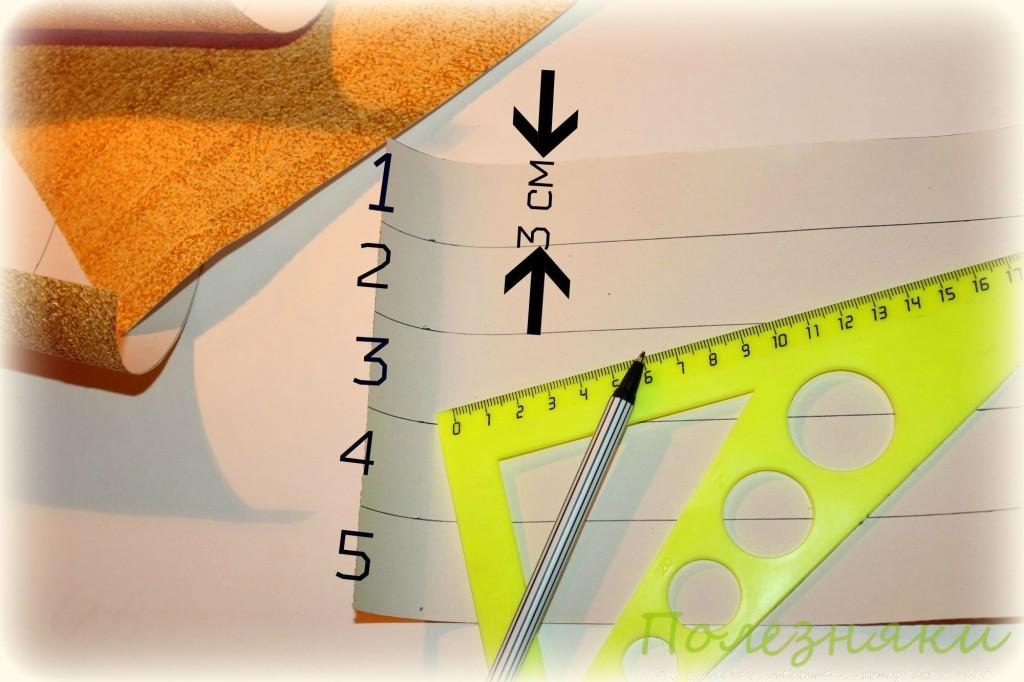 рамки-витринки из остатков обоев 3