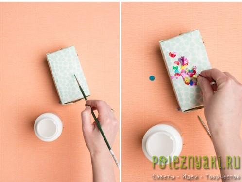 Упаковка радужная или весеннее конфетти инструкция