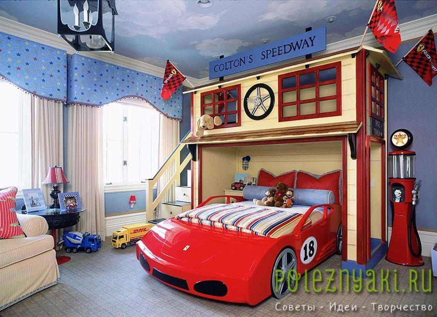 17. Спальня ипподром