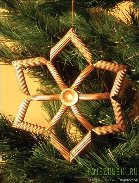 Идеи для новогодних поделок и елок из макарон