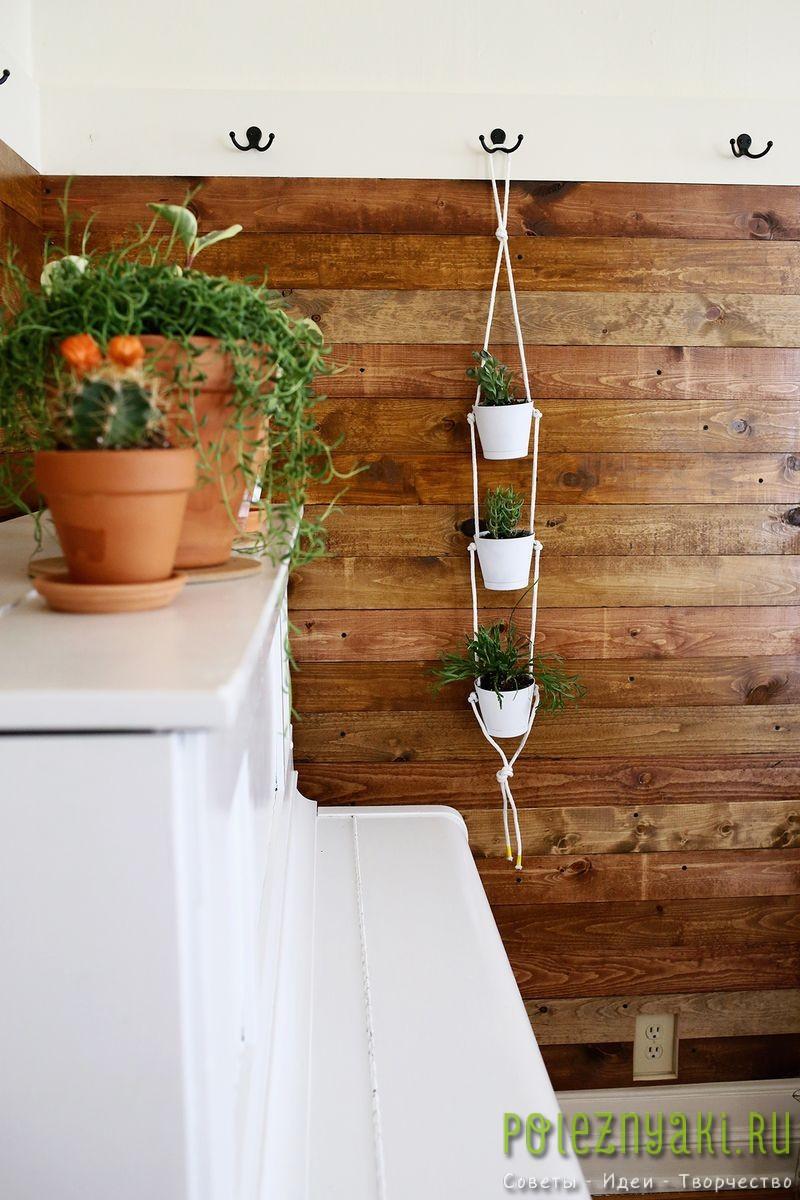Как организовать в квартире подвесной сад подвешиваем 2