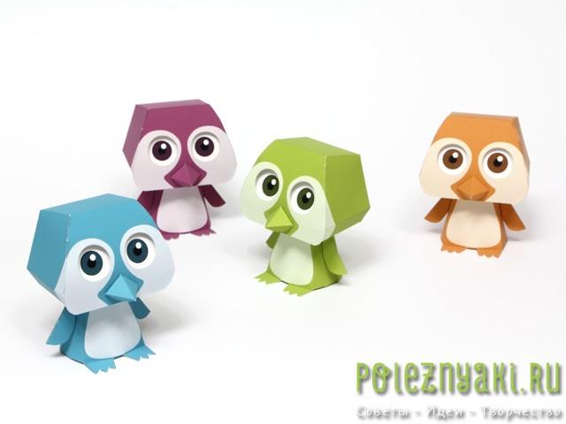 пингвин варианты цвета