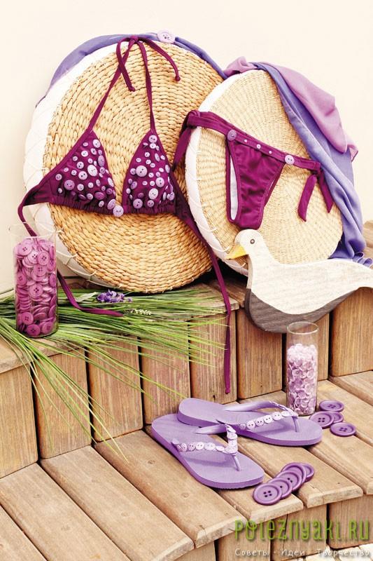 Креативные идеи по украшению летних шлепок этим летом