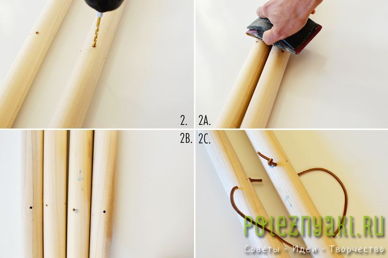 Стойка для одежды своими руками инструкция2