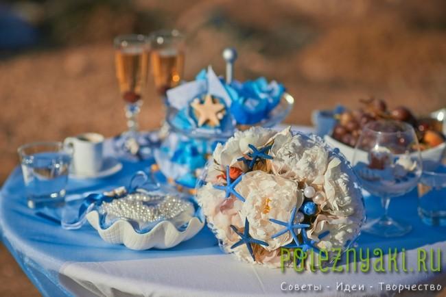 20 идей для свадебных букетов в пляжном стиле 12