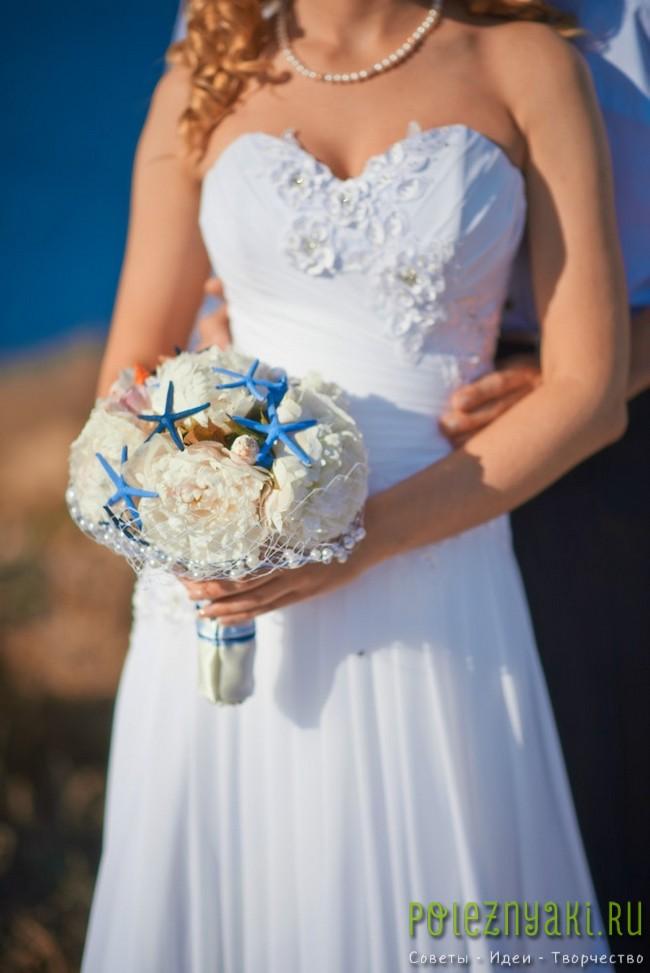 20 идей для свадебных букетов в пляжном стиле 16