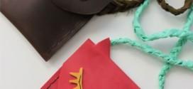 Делаем сами детские кожаные сумочки