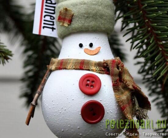 сделай сам рождественские идеи созданию украшений из лампочек 19