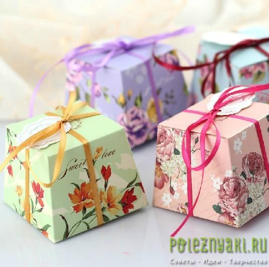 Идеи по созданию красивых коробочек2
