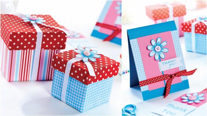 Подарочные коробки и открытки