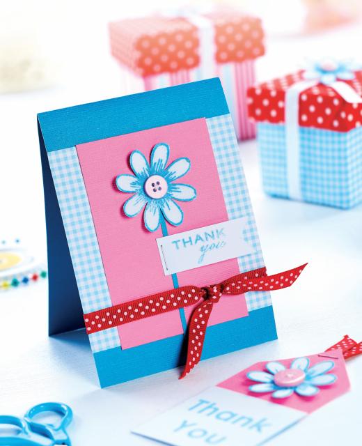 Подарочные открытки украшенные цветами