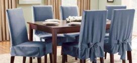 Технология пошива чехлов на стулья своими руками: пошаговое руководство