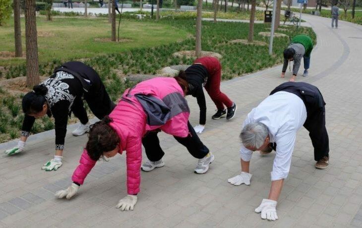 Китайцы для улучшения мозгового кровообращения советуют ходить на четвереньках. И как советуют Бубновский и Пилатес