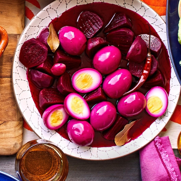 Маринованные яйца – пальчики оближешь!