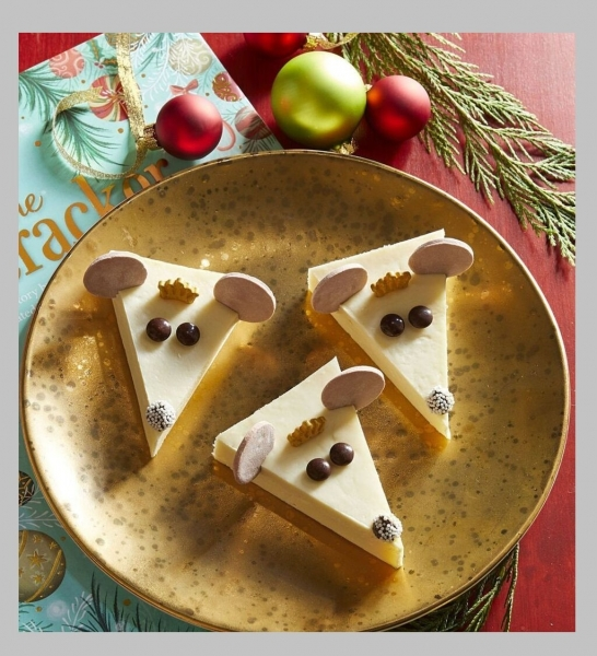 Украшение новогодних блюд символом года - 8 примеров