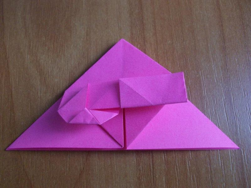 Как за 2 минуты сделать закладку из бумаги без клея. Подробный мастер-класс